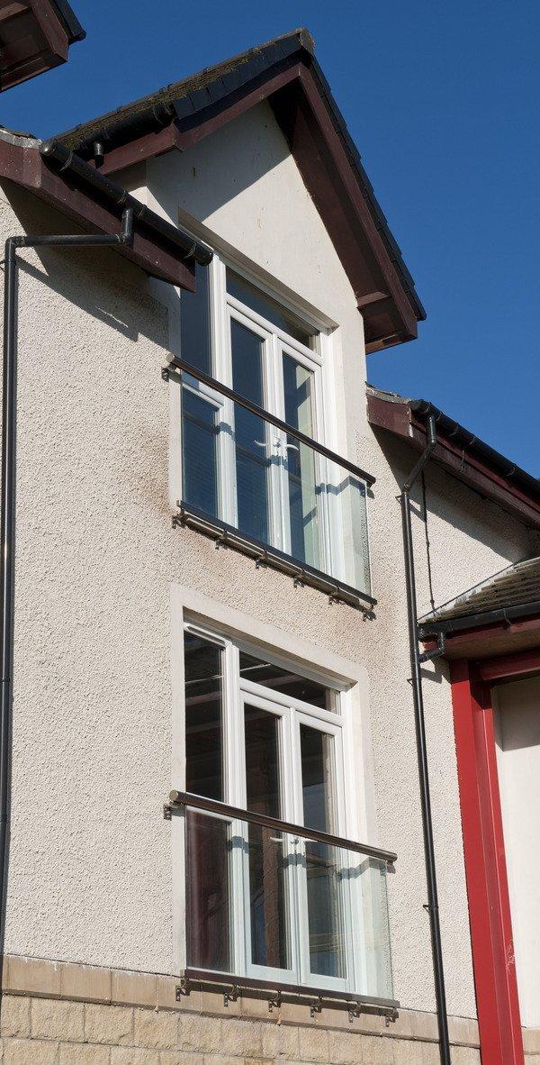 Eco-friendly glass balconies from Balcony Systems