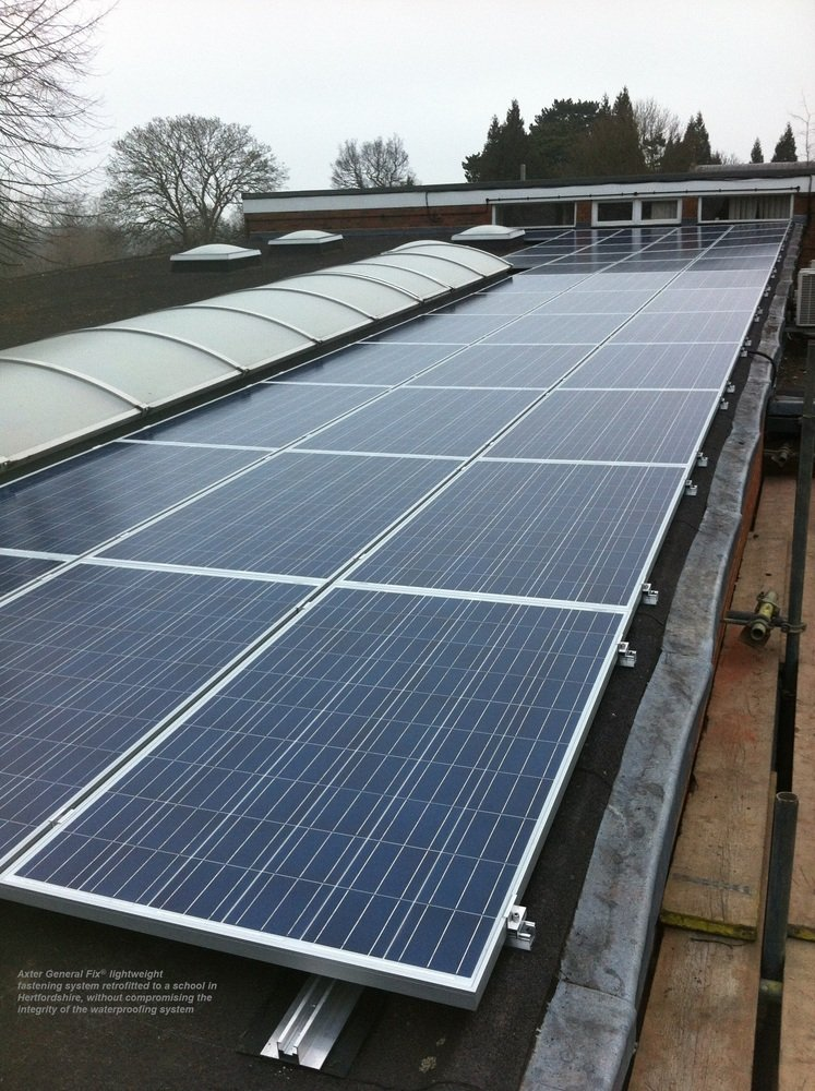 Axter_general_fix_retrofitted_to_a_school_in_hertfordshire