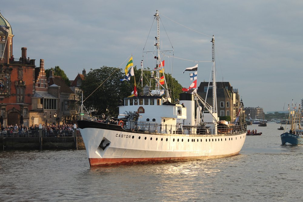 Hochiki Europe takes to the sea on ex-Dutch Navy ship