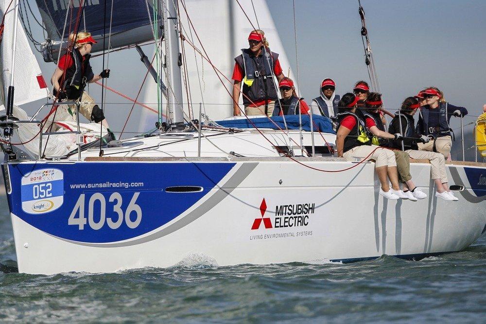 Mitsubishi Maidens enjoy sailing success despite the drag 5