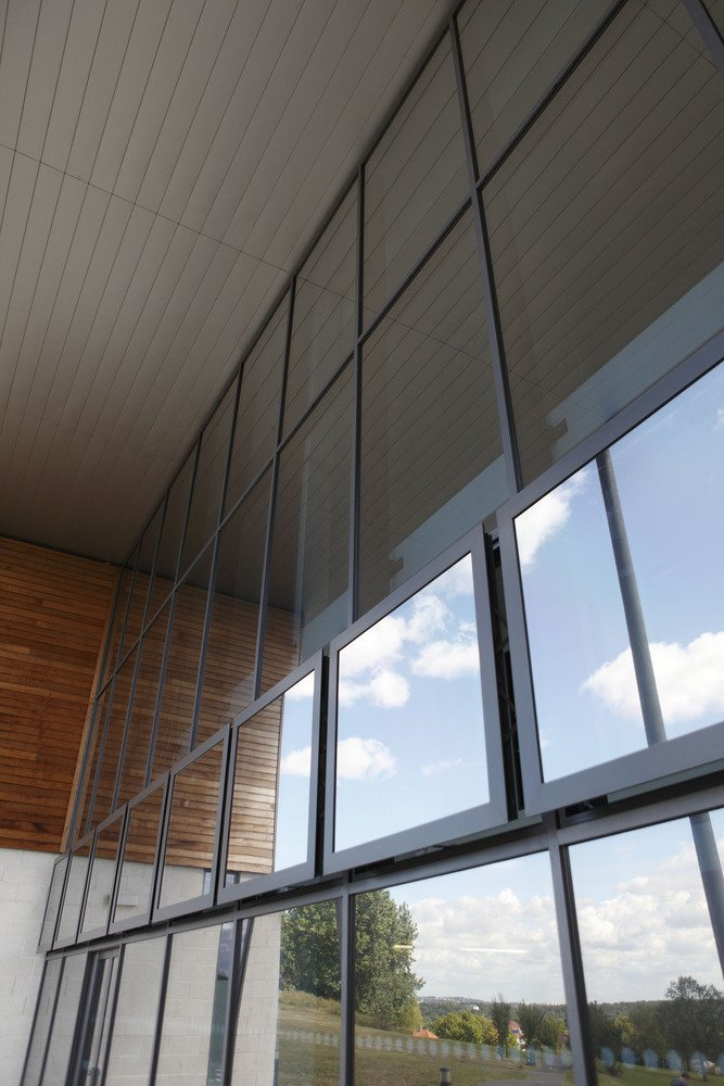 Reynaers Airmax Parallel Openers Solve Natural Ventilation Requirements at Leisure Centre