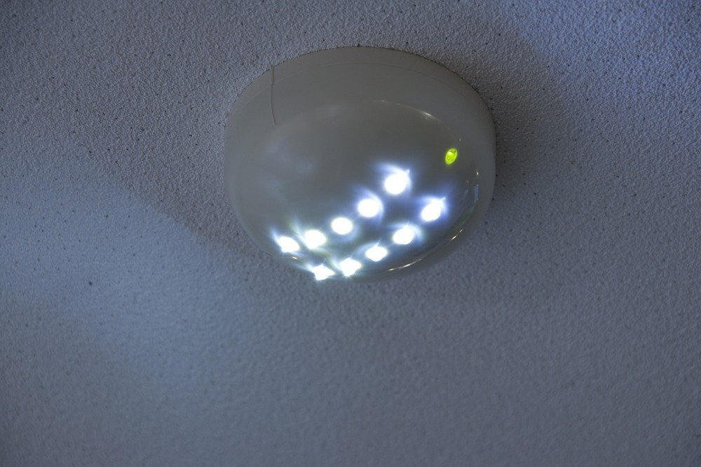 Energy efficient LED emergency lighting serves a dual purpose