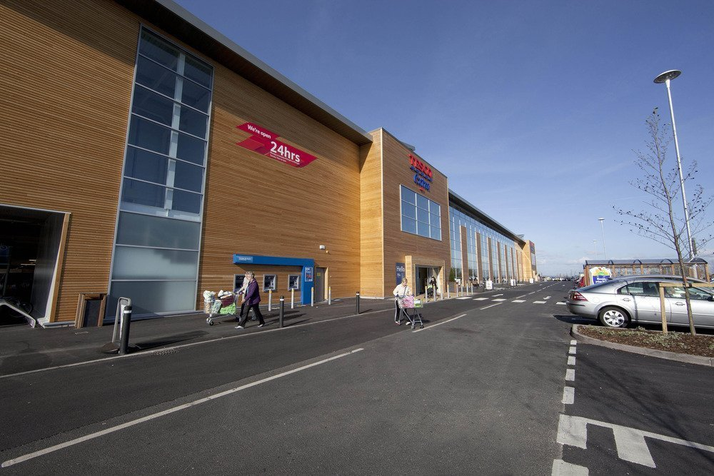 Elta Fans' units fitted to trio of new-build Tesco stores
