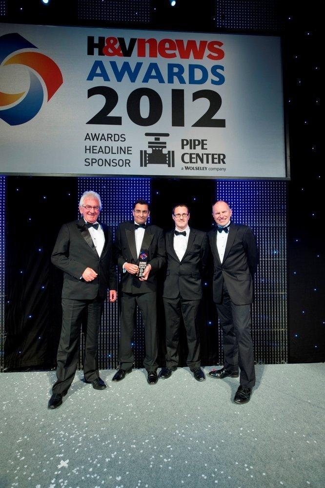 Vent-Axia's Lo-Carbon Heat Recovery Wins Prestigious H&V Industry Award