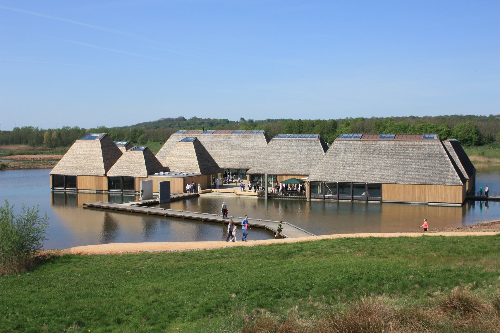 Nature reserve hosts TRADA Technology Timber Frame Construction course