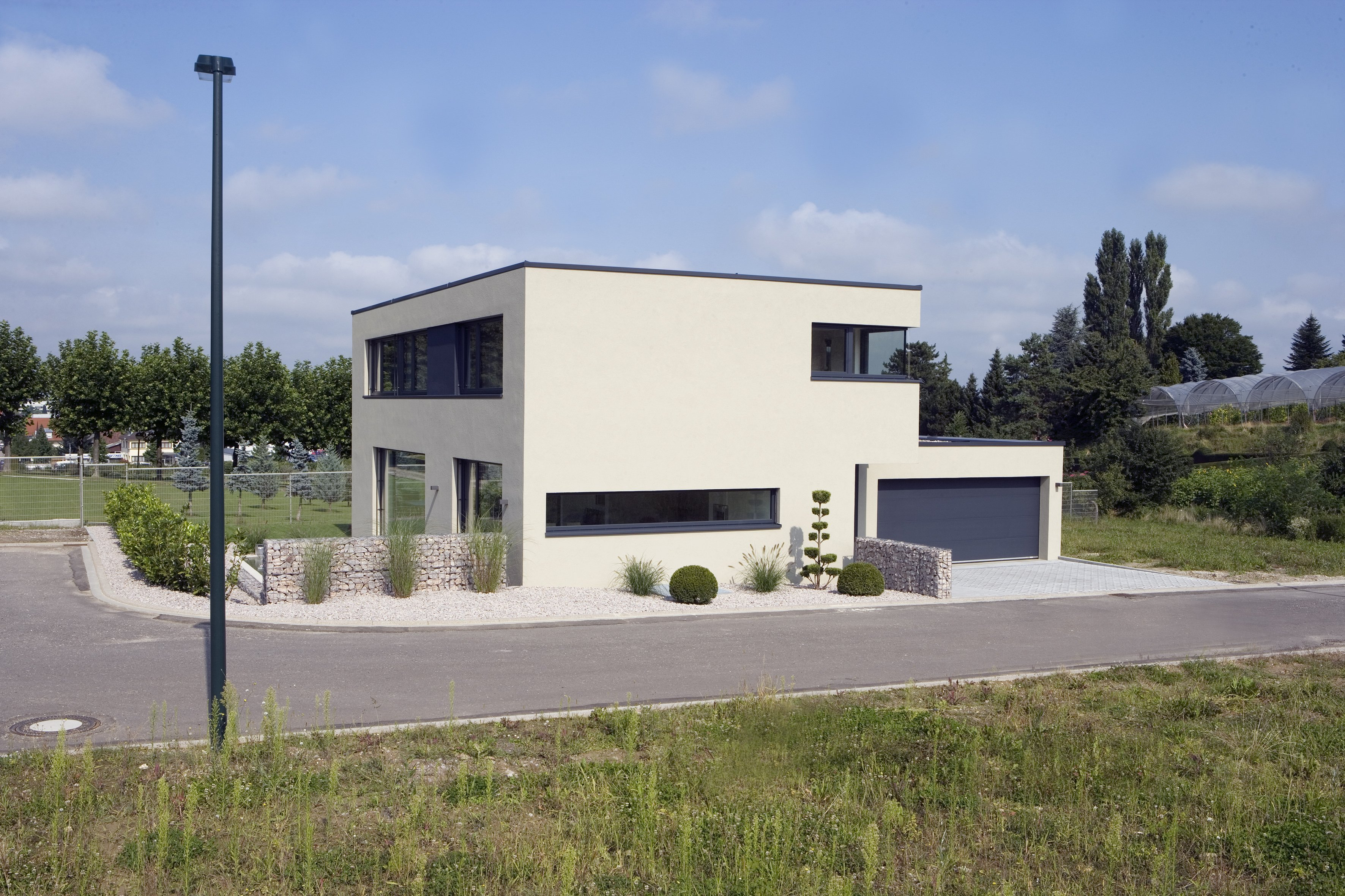 Sustainable concrete home uses bespoke Isokorb