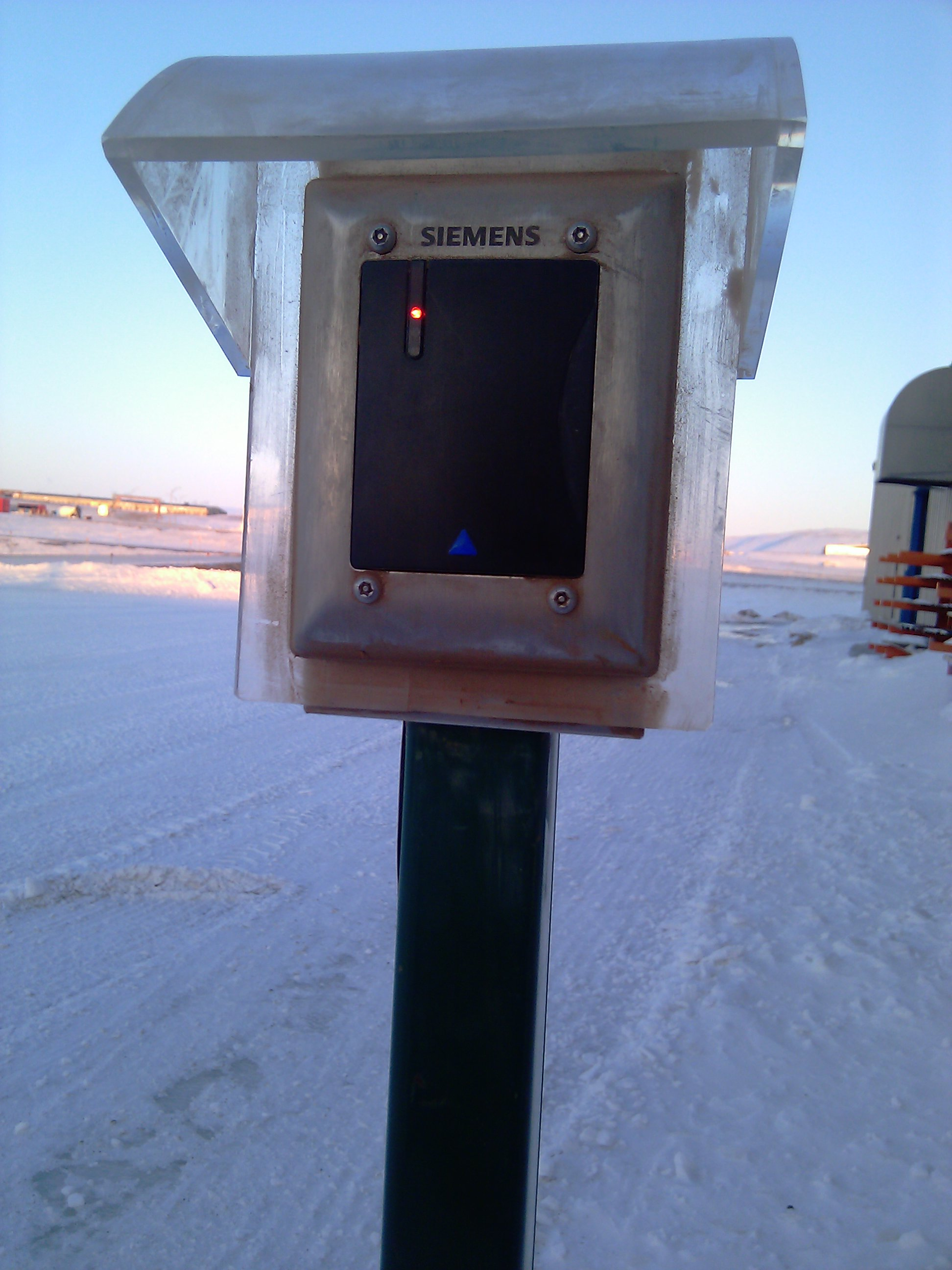 Siemens secures Arctic airbase