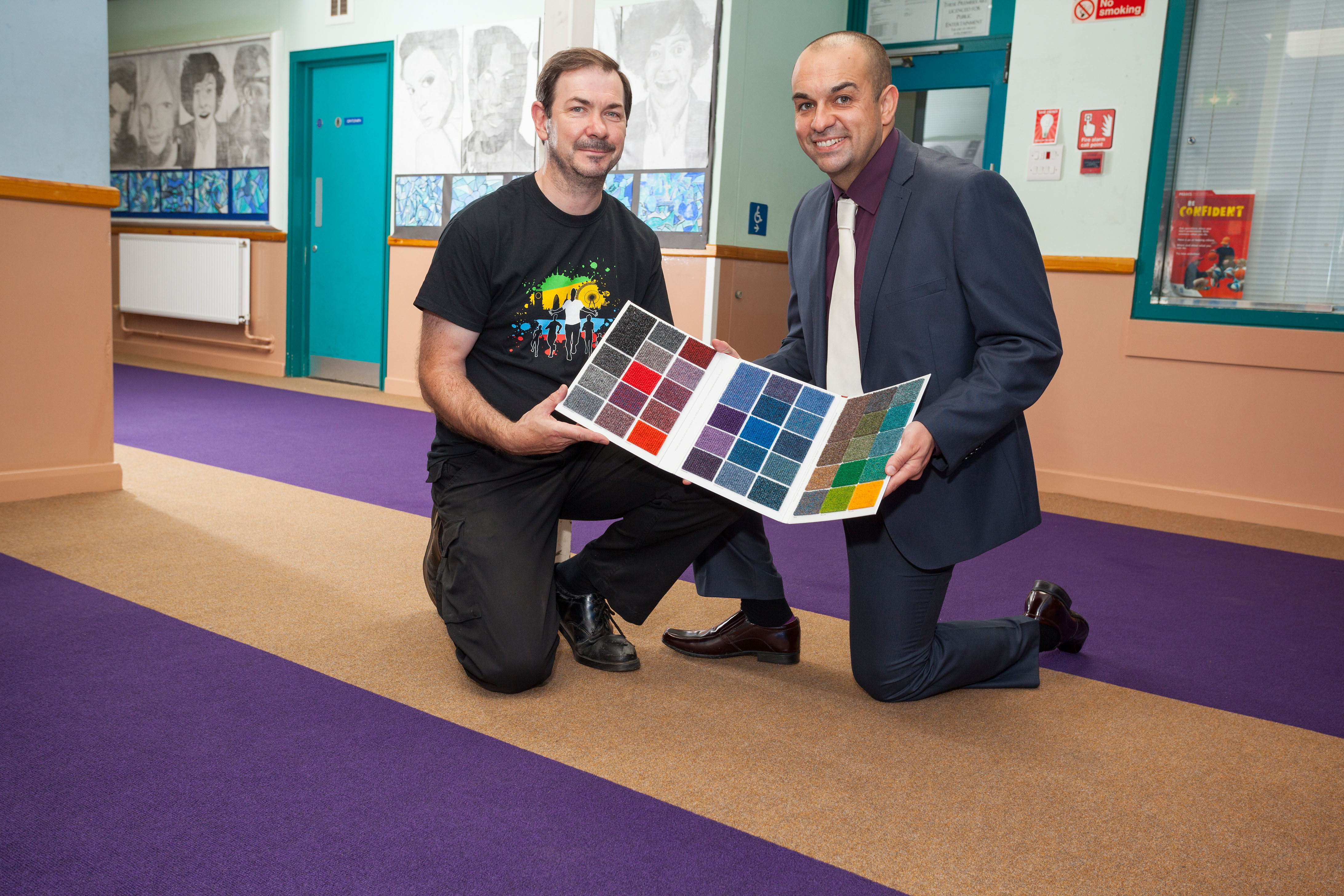 OXFORDSHIRE SCHOOL WINS SUPACORD CARPET COMPETITION