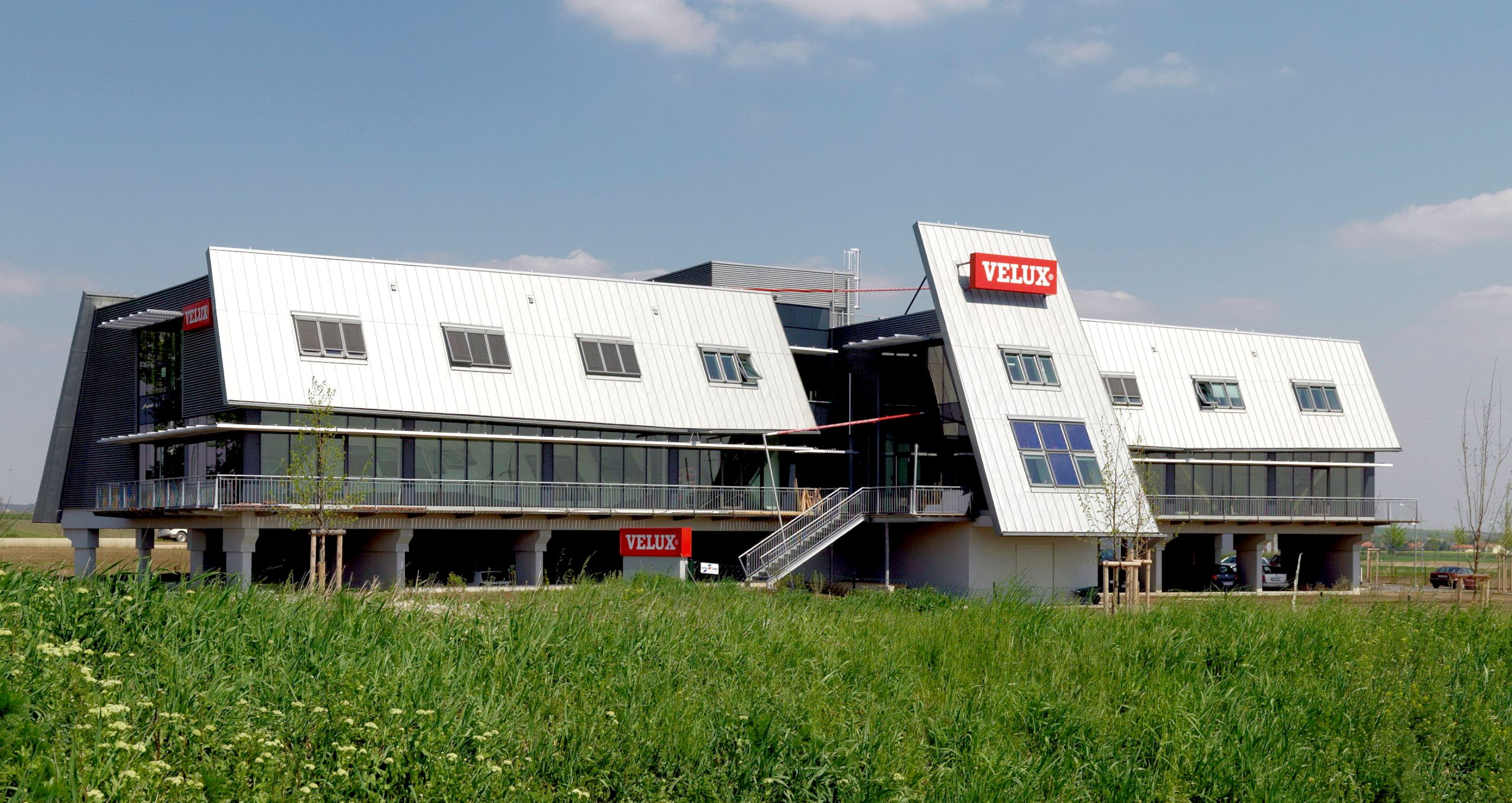 Schöck Isokorb proves ideal for Velux Headquarters
