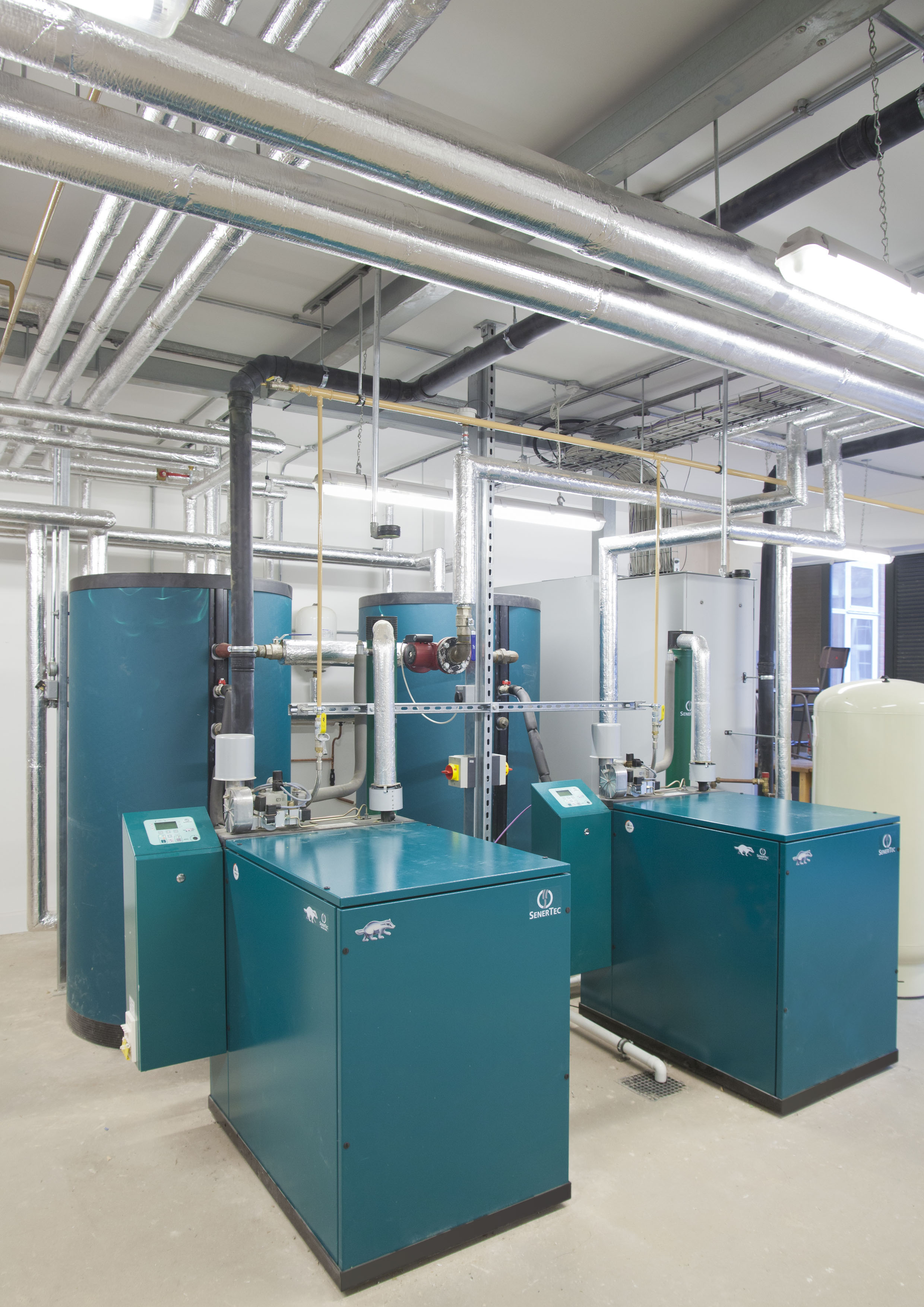 BAXI Dachs mini-CHP units installed at Oakham School