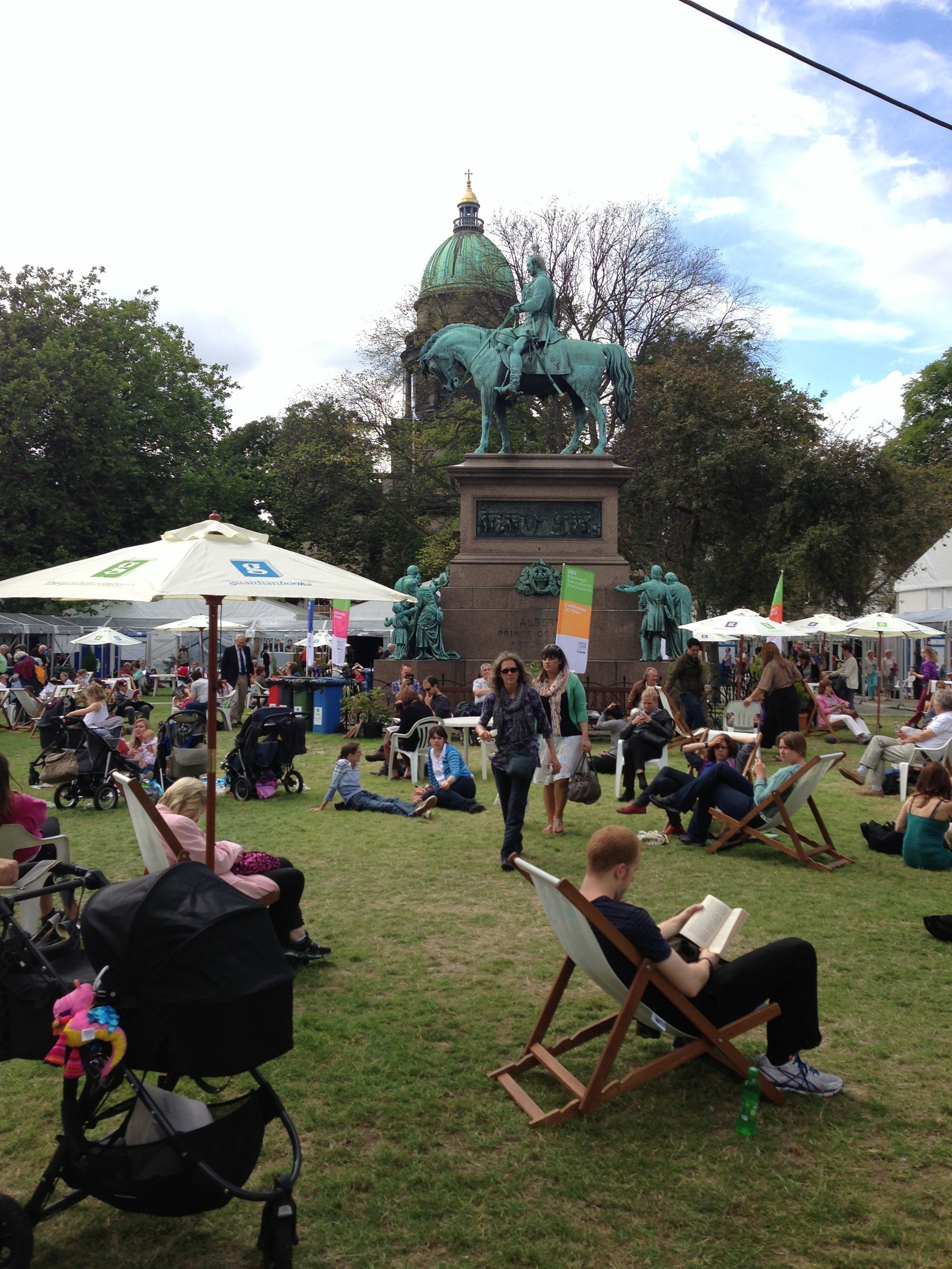 Elta Fans brings breath of fresh air to this year's Edinburgh International Book Festival