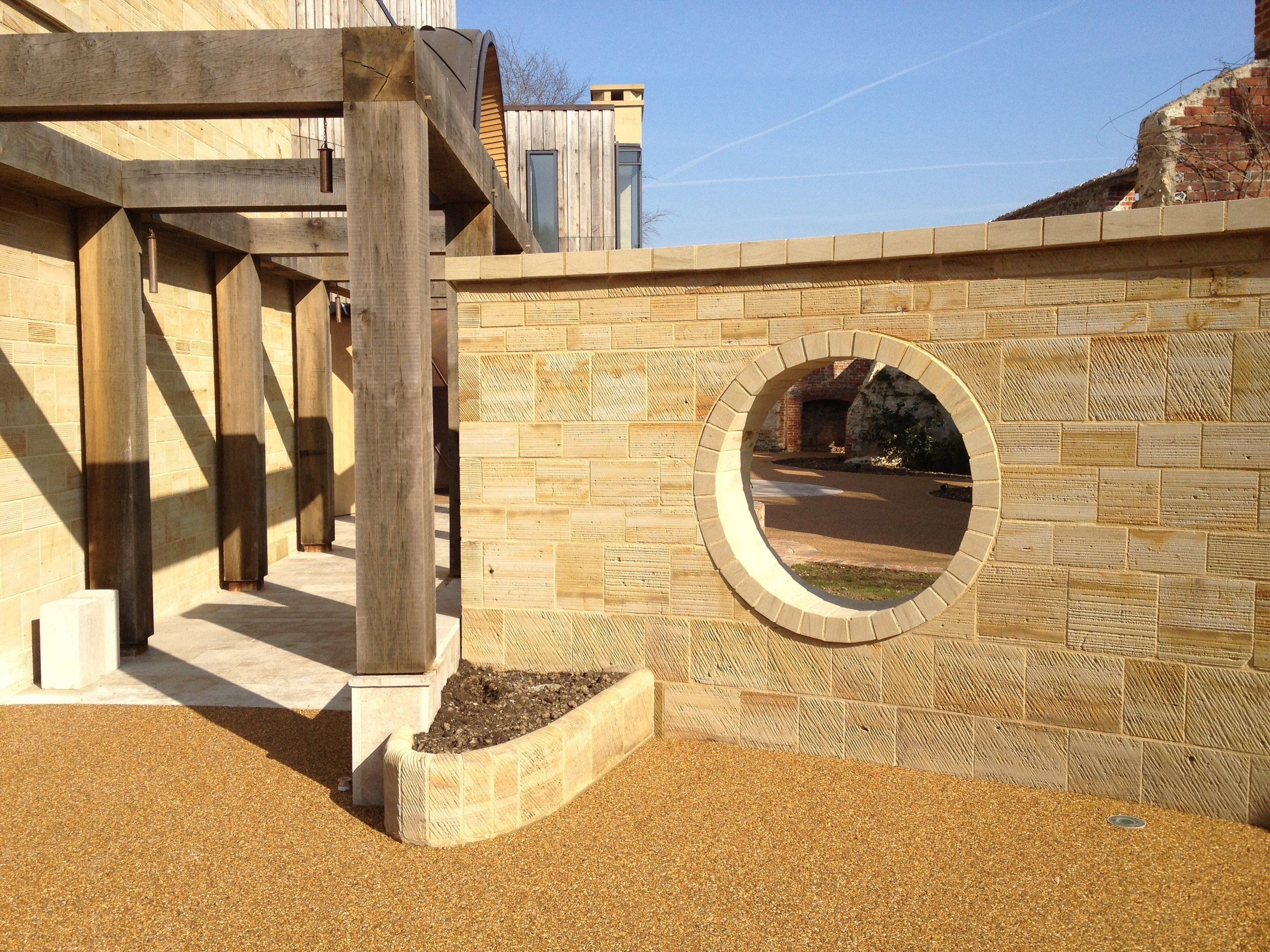 RonaDeck Resin Bound Surfacing chosen for unique property