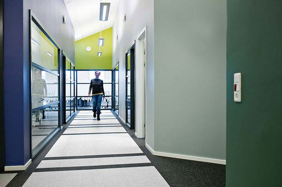 SPORTEC® Purcolor impact & noise reducing flooring
