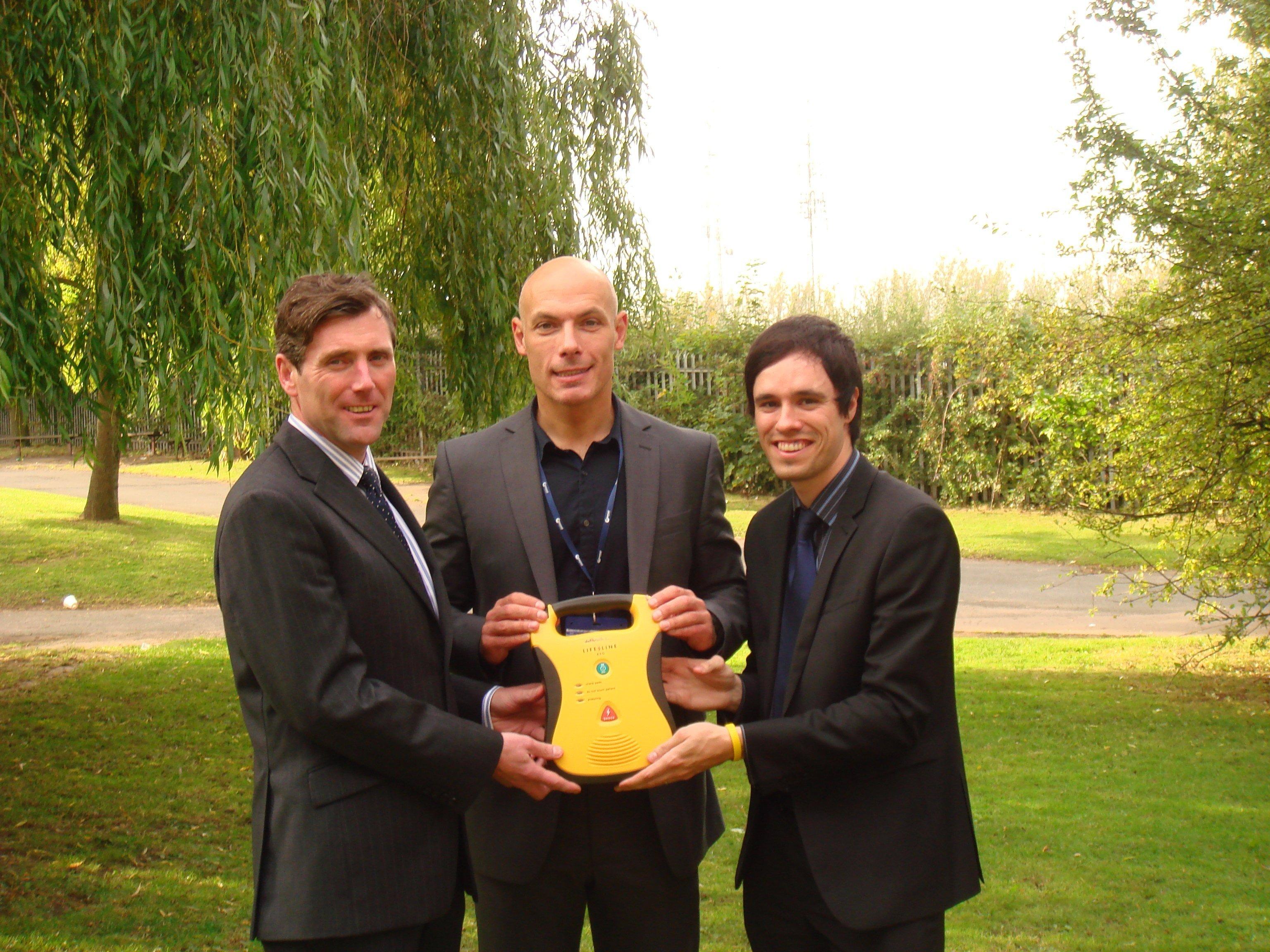 Ian, Howard Webb & David of Oakwood School 2