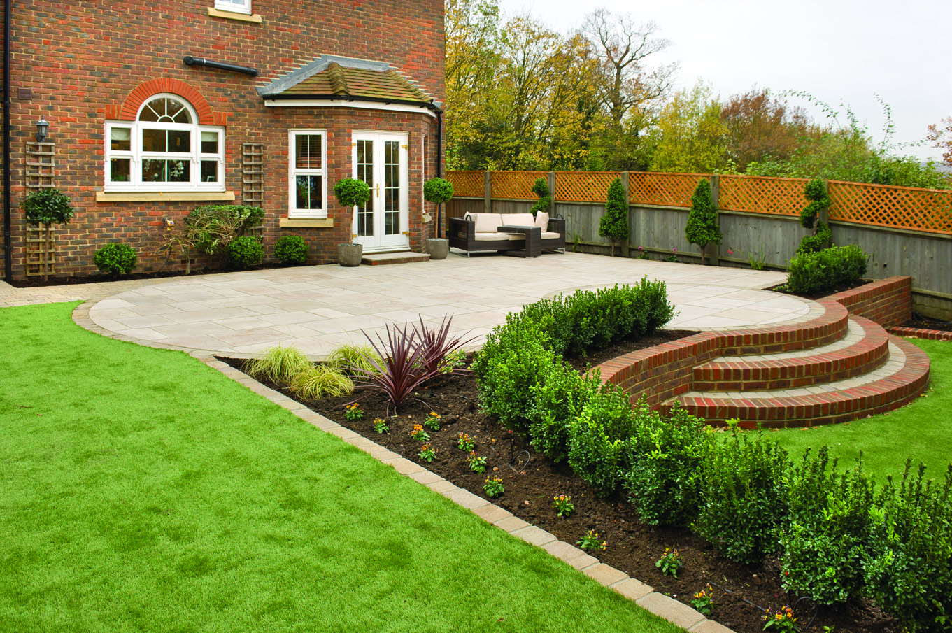 Enhanced natural stone range at heart of Brett Landscaping's new garden & drives offering