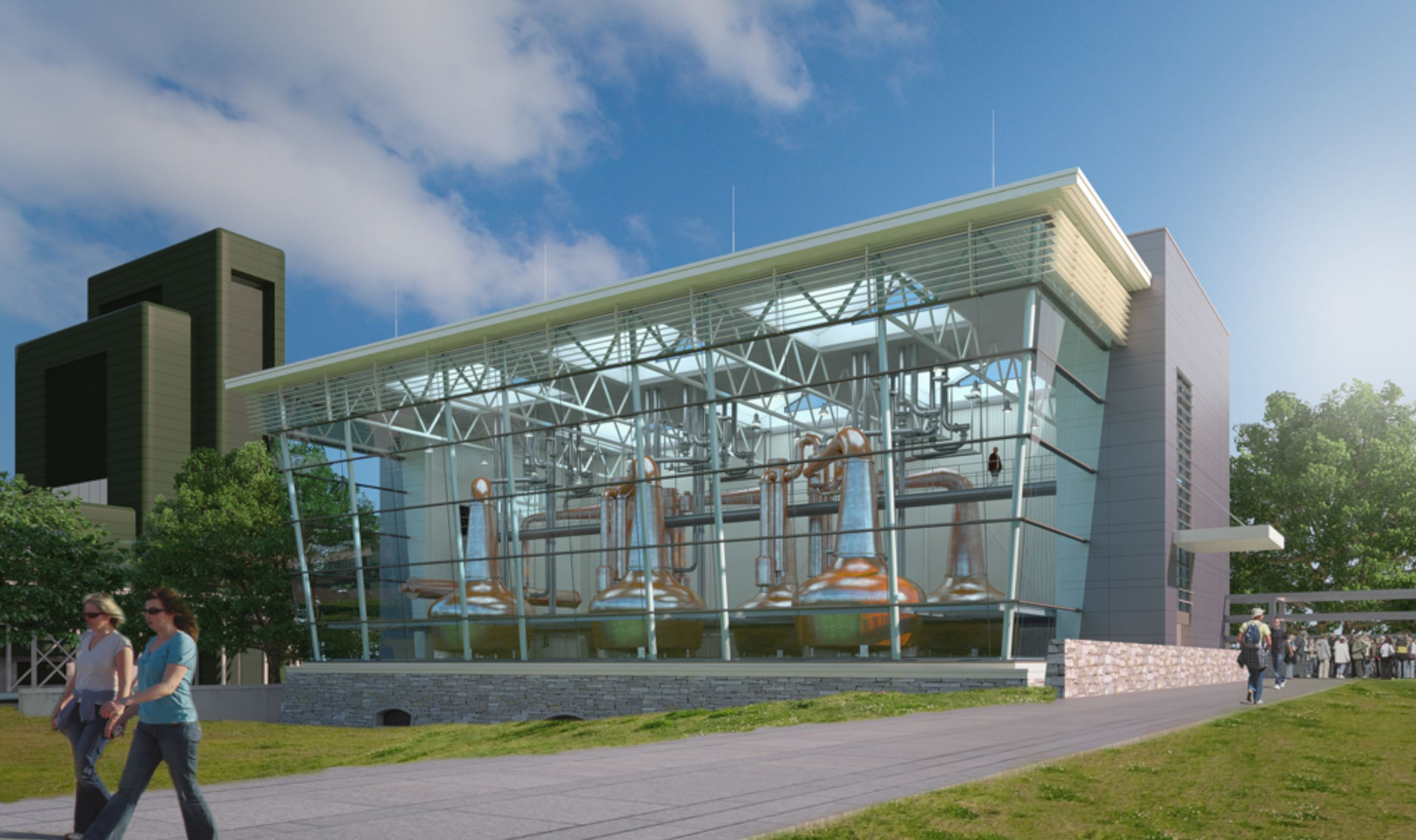 Schöck prevents thermal bridging in major new Irish distillery