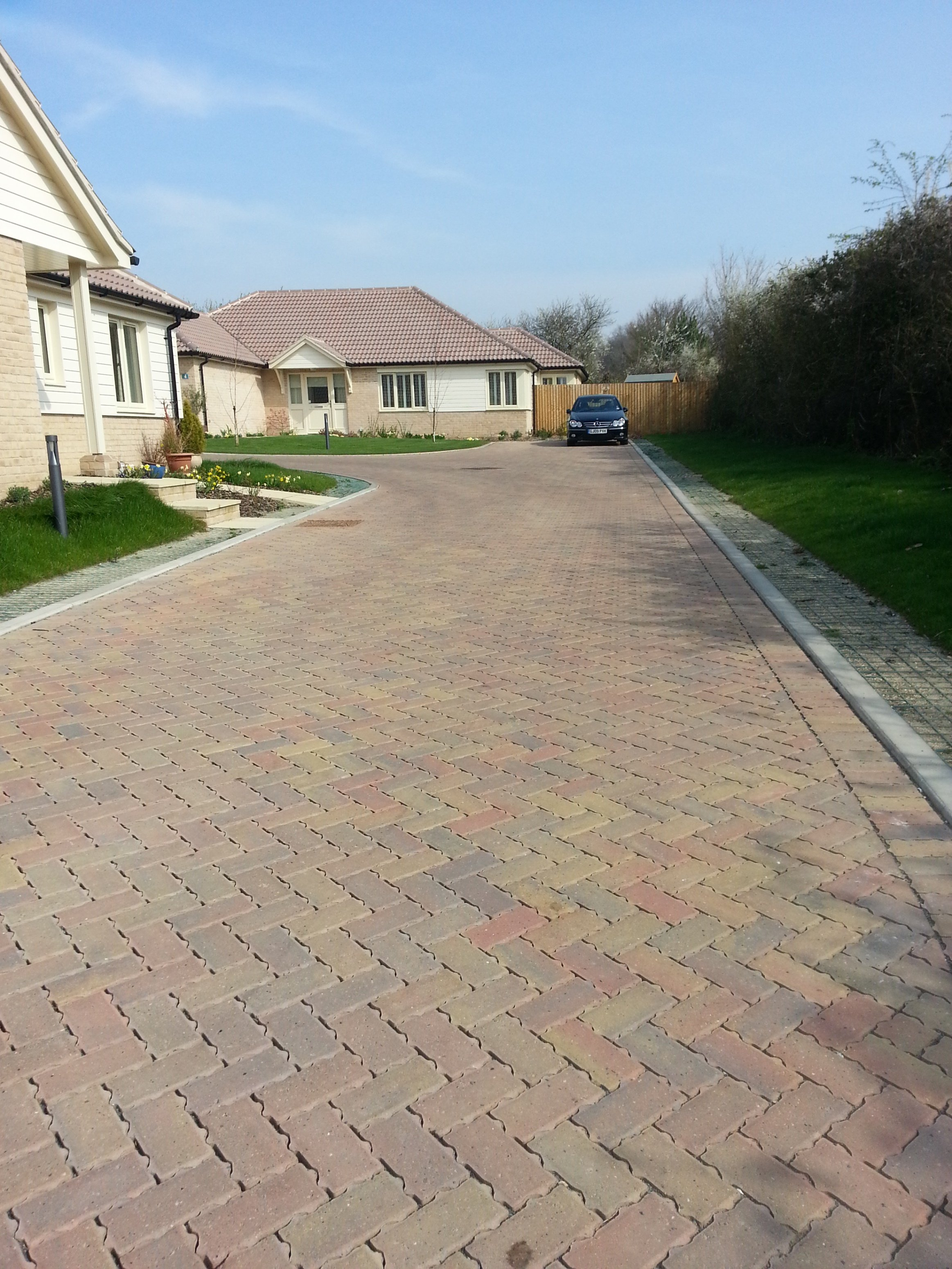 Brett Permeable Paving Expertise Proves Key For Developing a Challenging Site