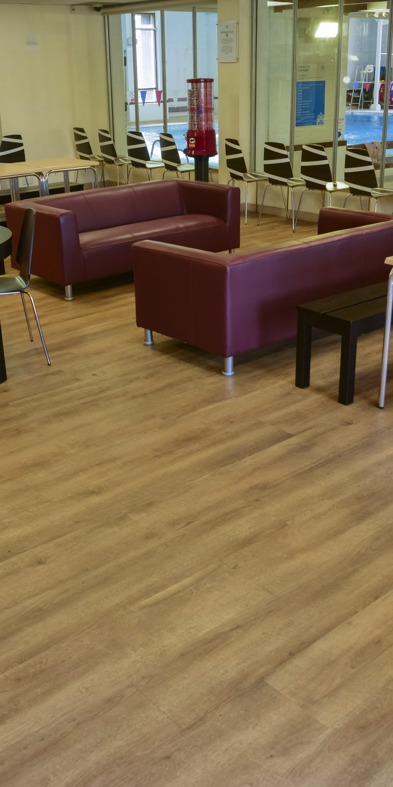 Tarkett Lvt Installation Goes Swimmingly At Fitness Centre Specifier Review