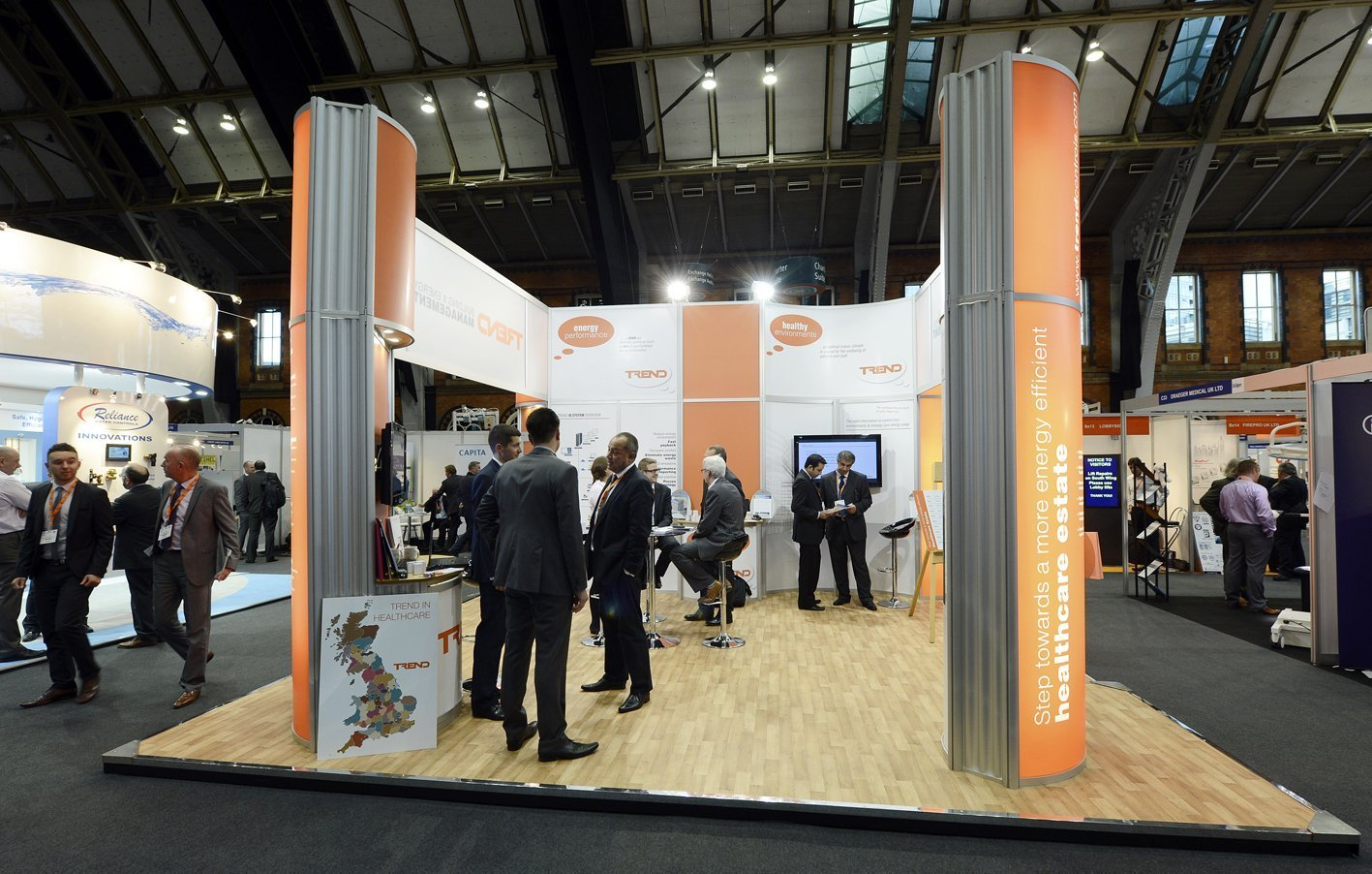 Sustainability is the priority at this year's Healthcare Estates Exhibition