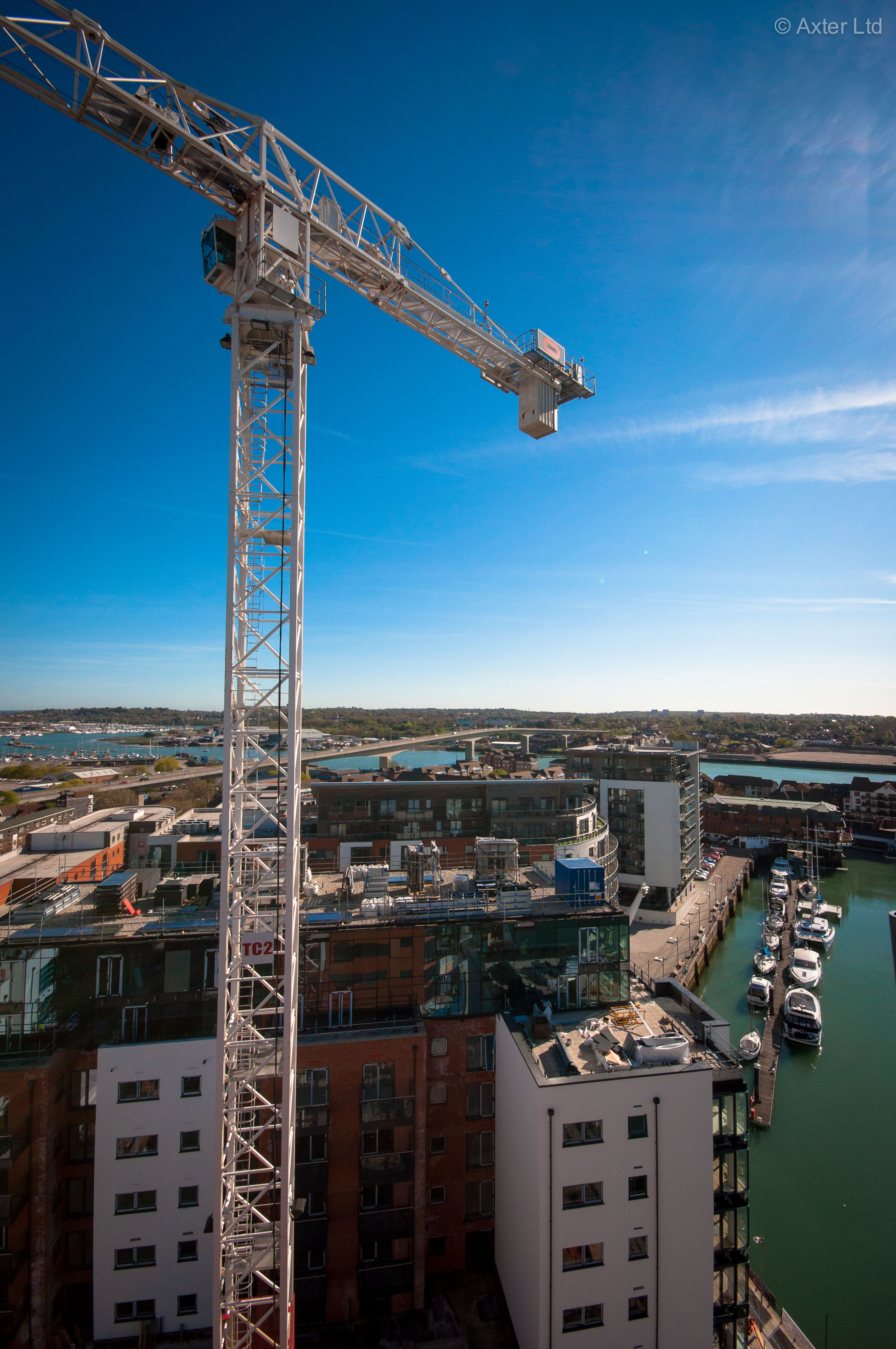 Admirals Quay, Southampton - Axter Wilotekt Plus structural waterproofing