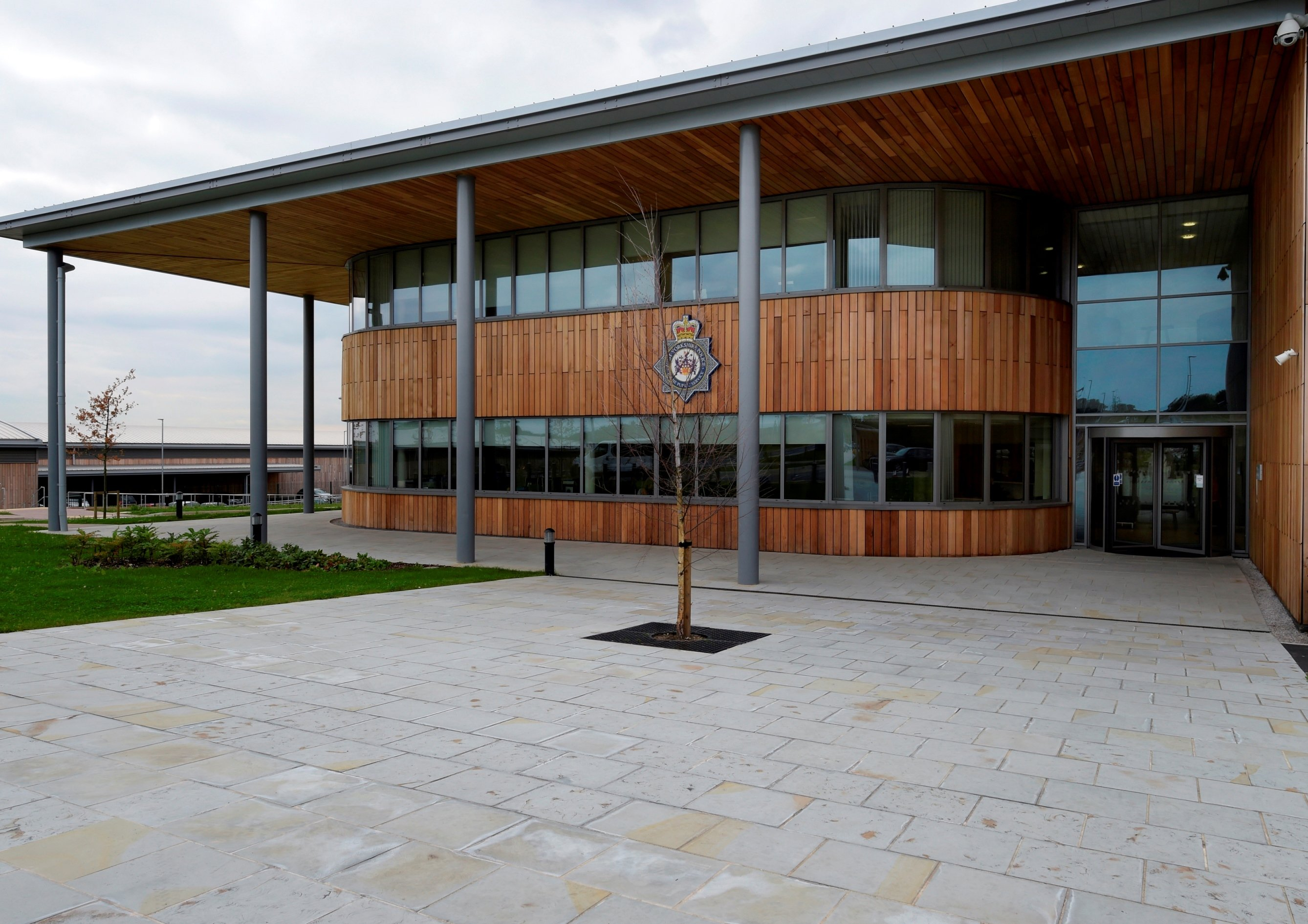 Brett Landscaping provides a 'natural'paving solution for police training centre