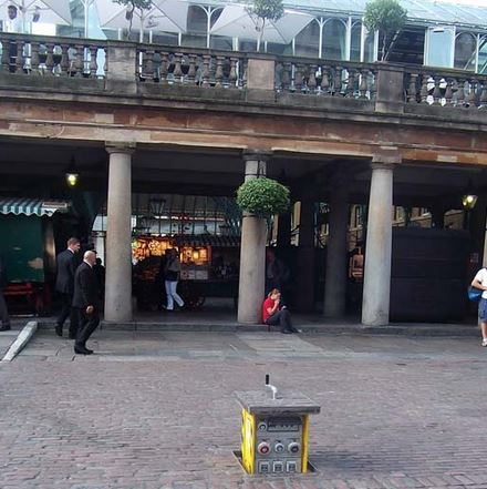 Pop Up Power Supplies® specified at Covent Garden