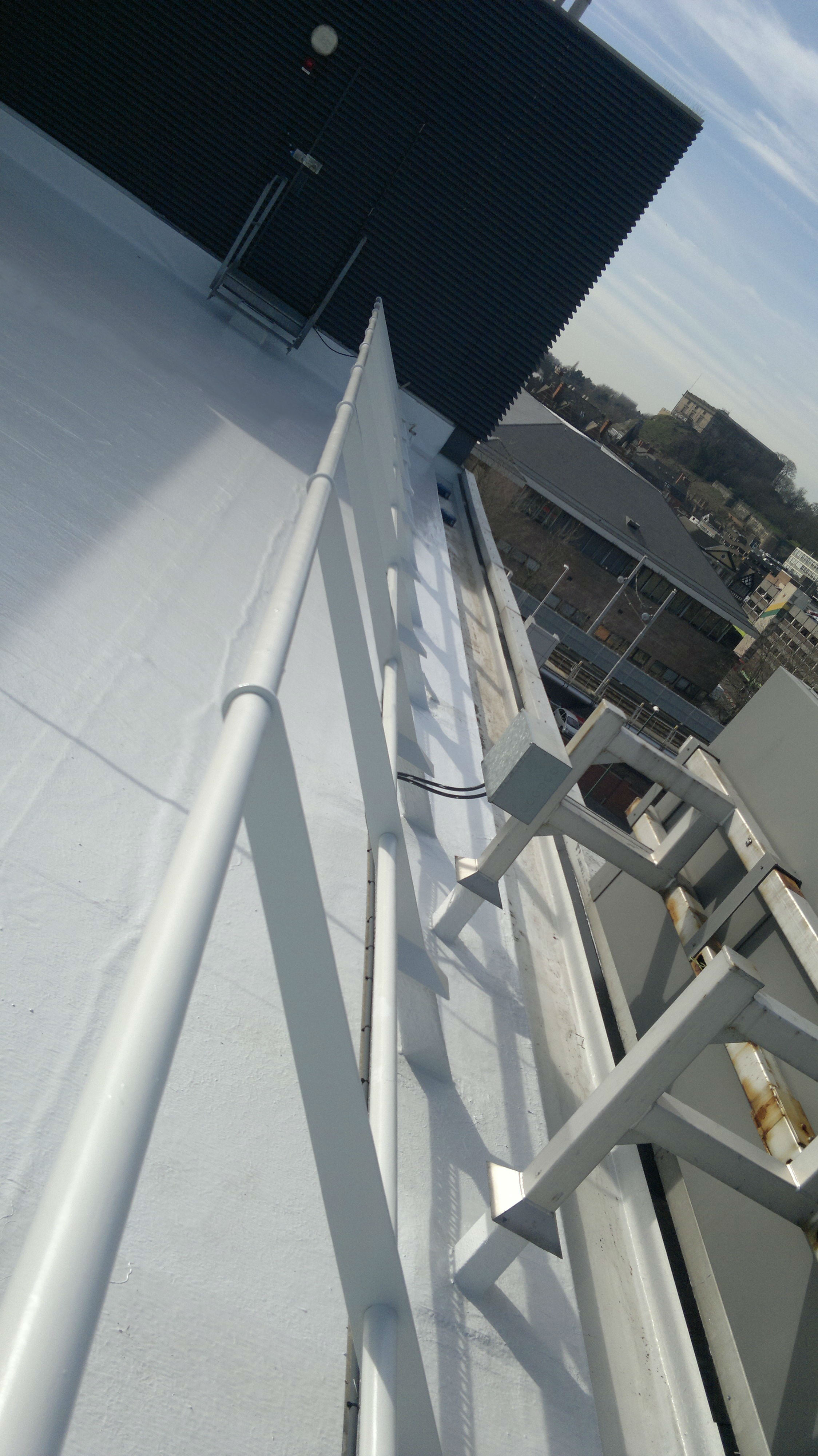 Refurbishment of Nottingham City Council roof is disruption-free thanks to Decothane Ultra