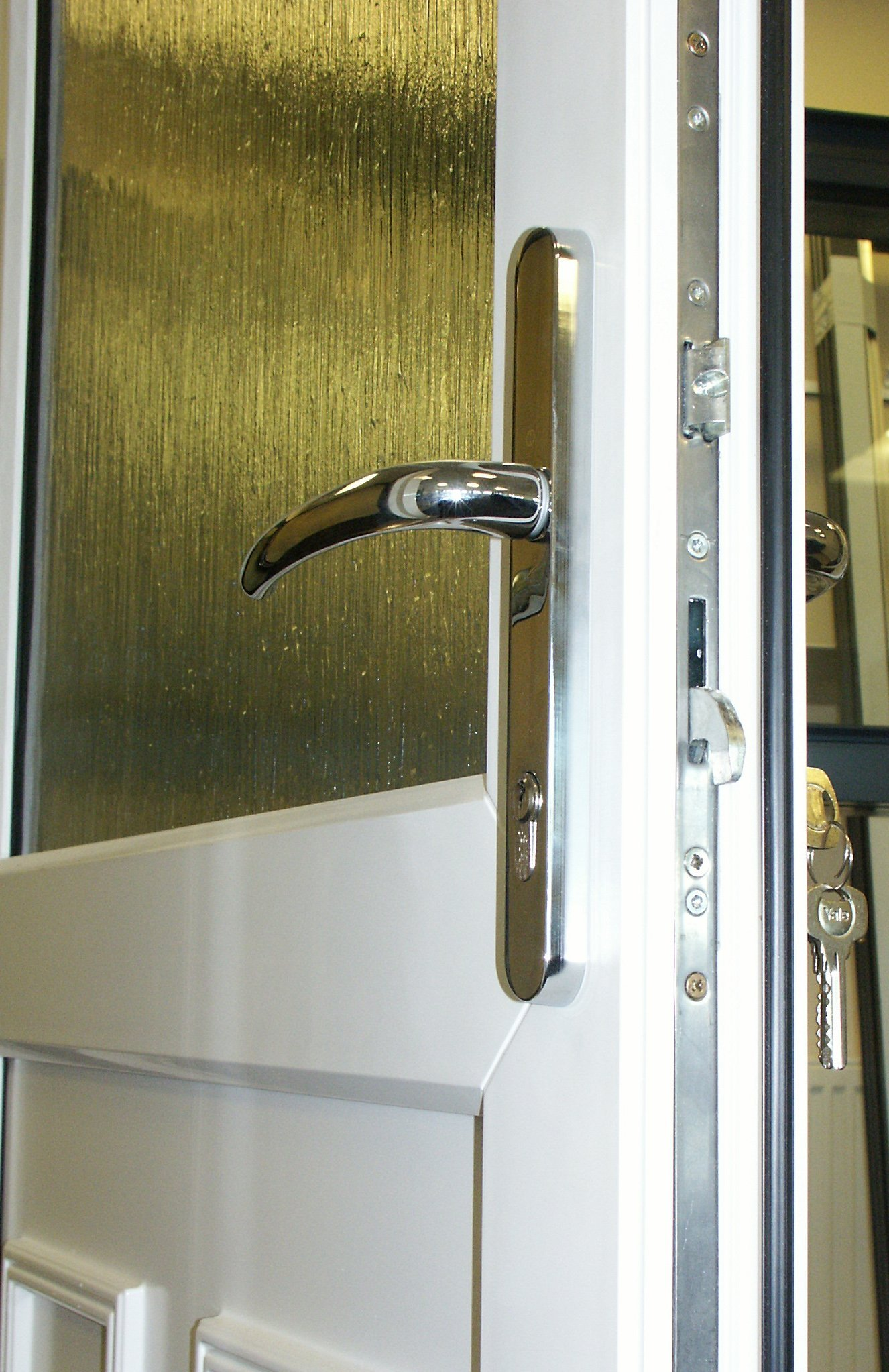 Is this the most secure U-PVC door available in the market?