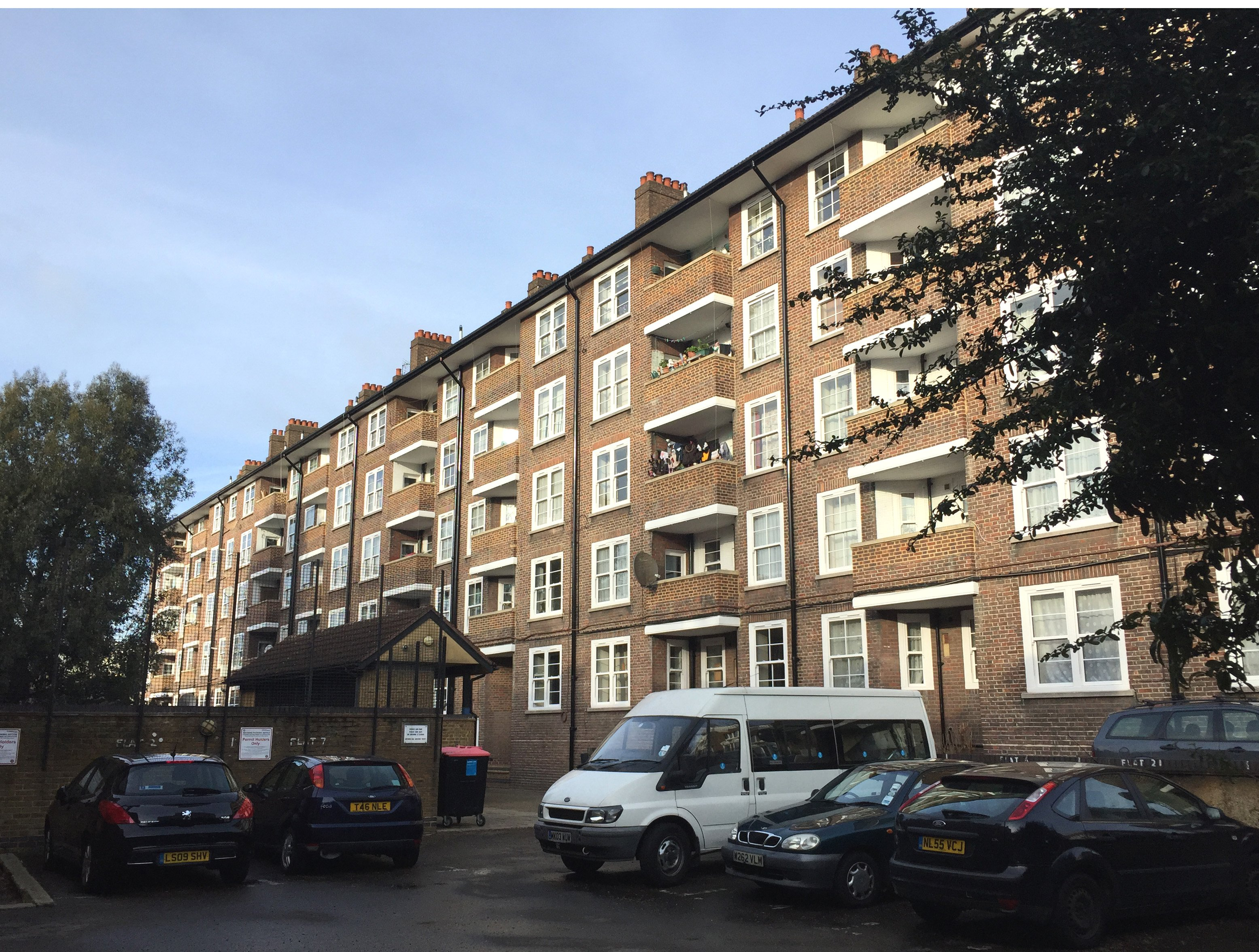 Sovereign supplies 369 VEKA Vertical Sliders for Notting Hill social housing renovation