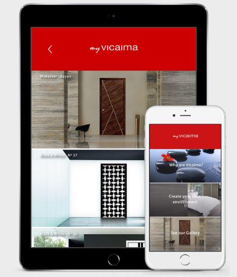 Vicaima make it snappy with new doors app