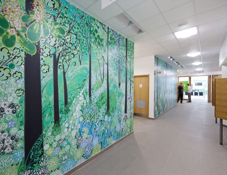 ROCKFON creates artistic sound control for new Morriston Hospital