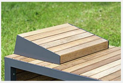 The Linares Range of Outdoor Tables & Public Seating by Bailey Streetscene