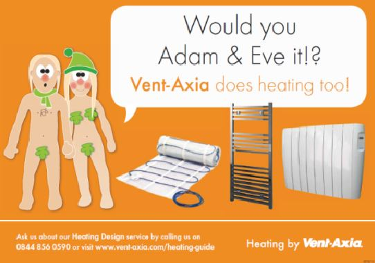 Vent-Axia's Electric Heating Range shortlisted for Marketing Initiative of the Year