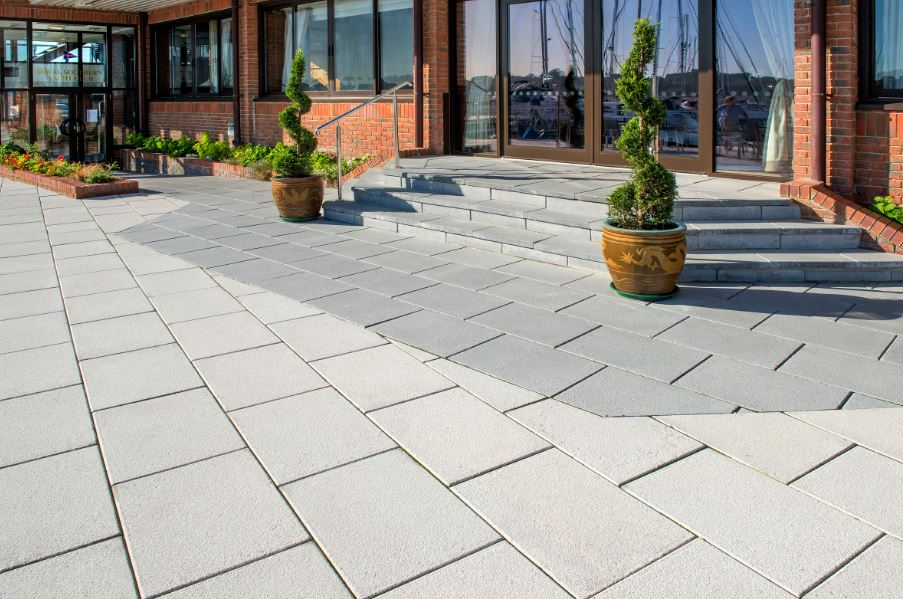 Lugano flag paving
