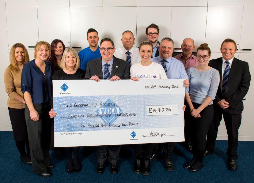 VEKA UK virtually triples fund-raising record