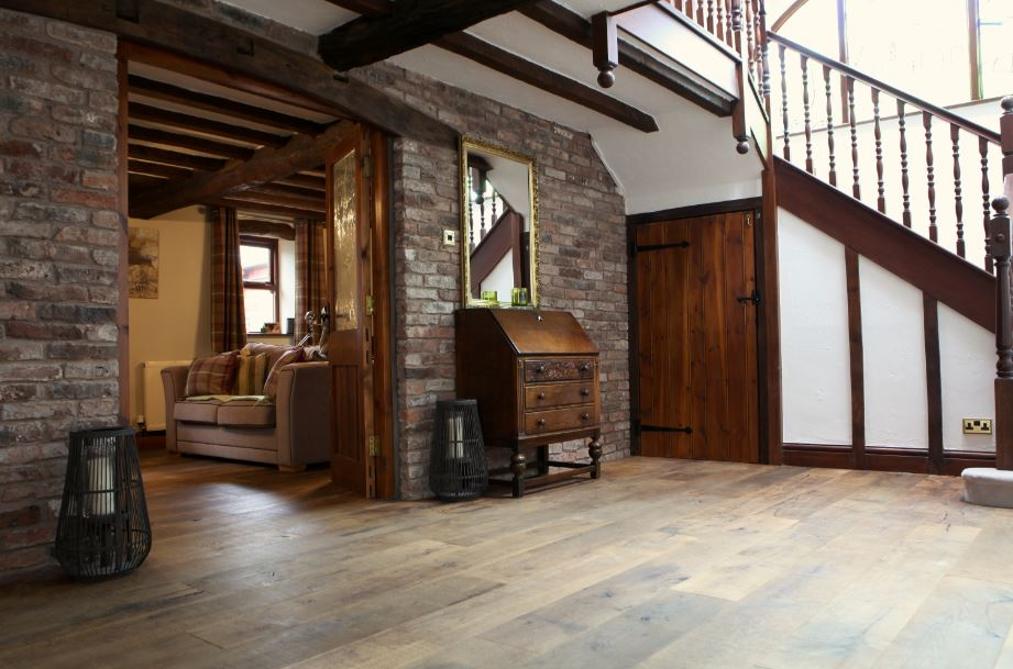 James Latham supplies flooring for rustic barn conversion 6