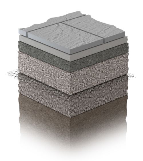 Marshalls Pavement Sub-Base Cutaway