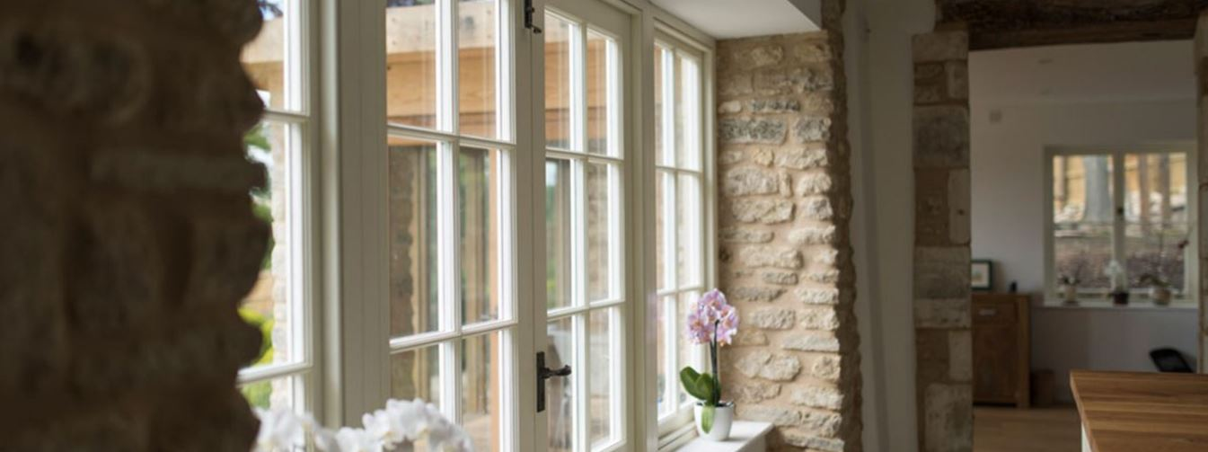 Accoya® chosen for French windows & doors at a country home in Bath 4