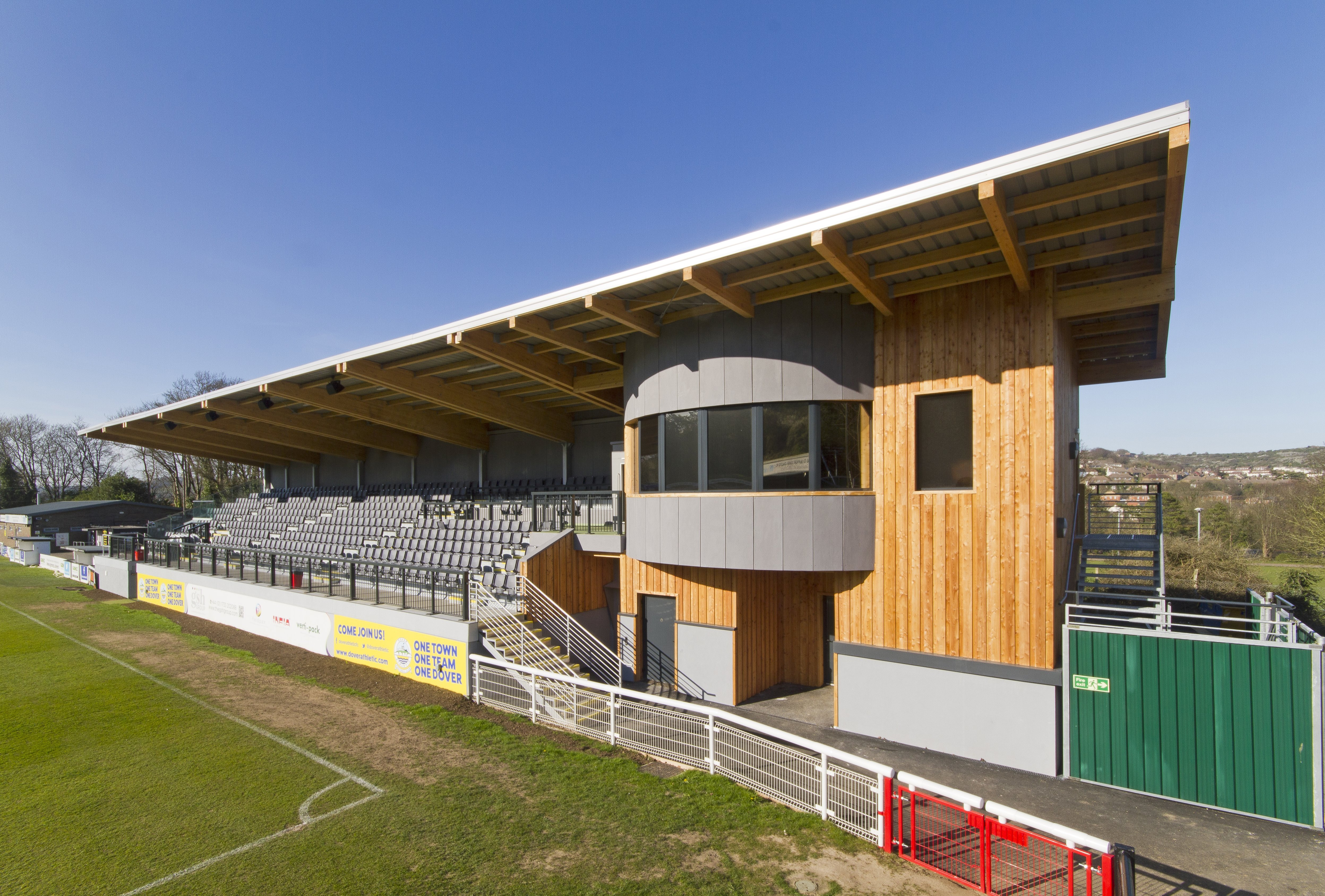 Dover FC Stand