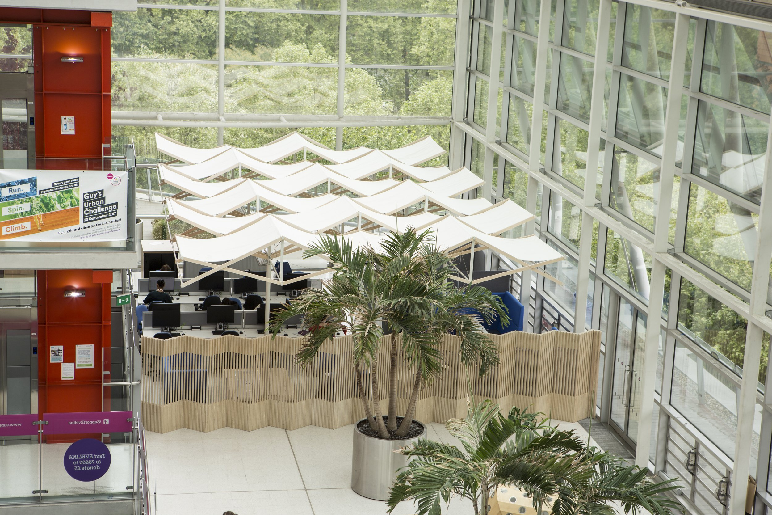 lightweight canopy structure