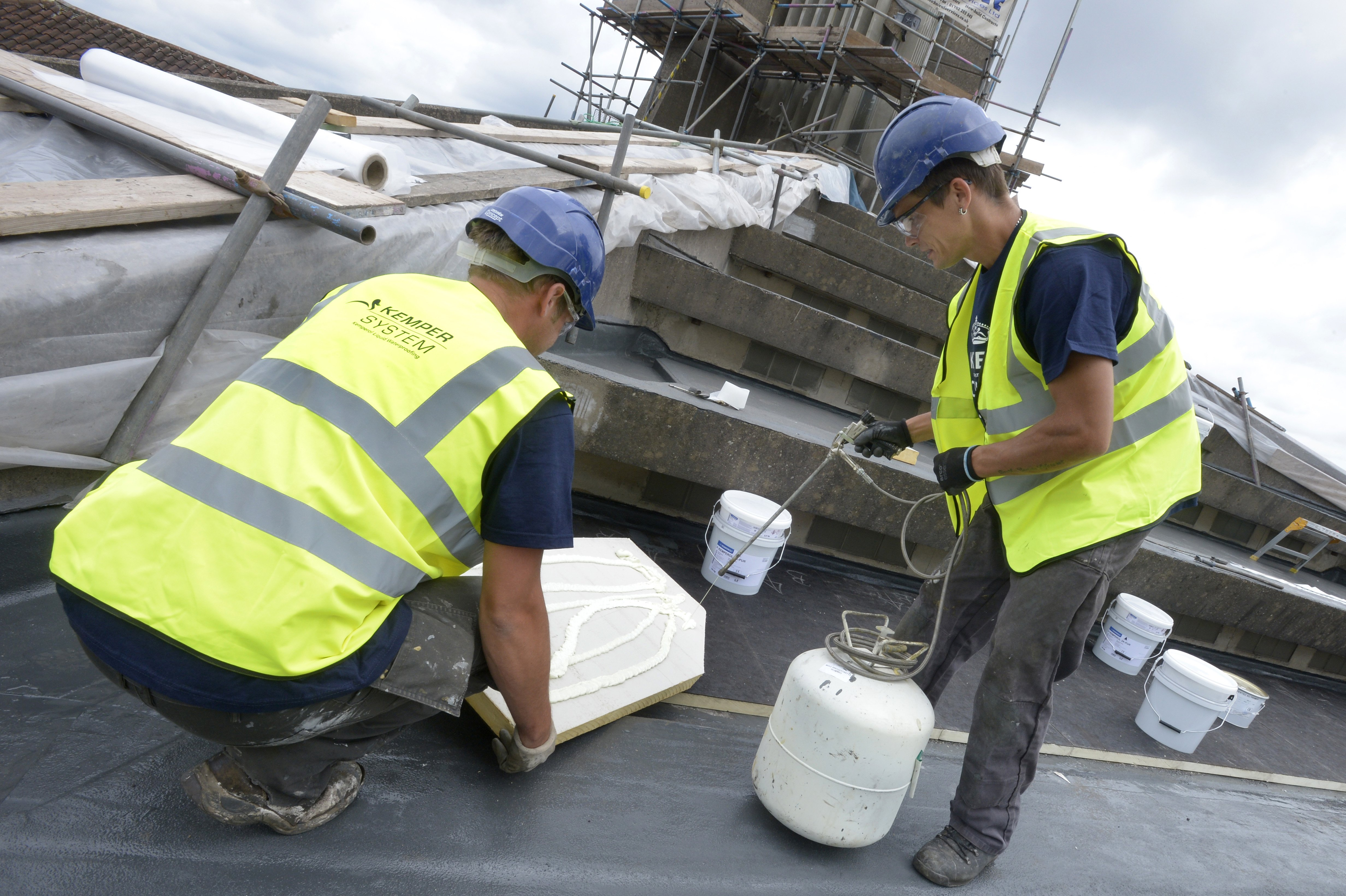 Kemper System helps protect concrete heritage