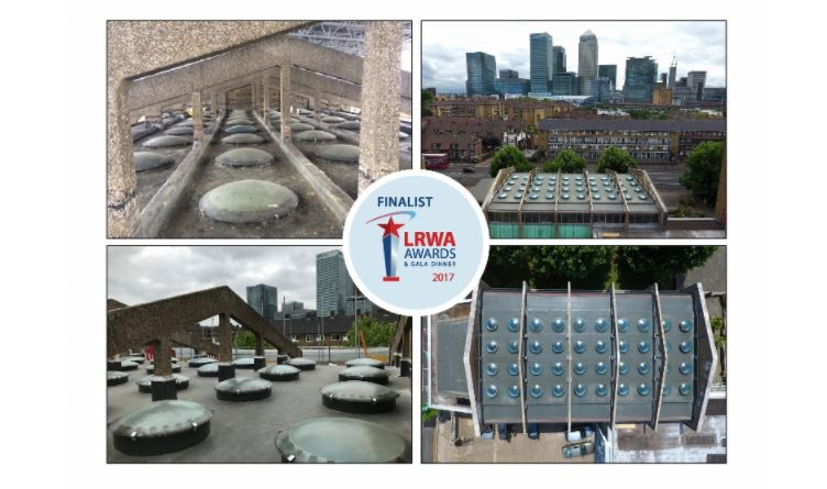 Kemper System Shortlisted For Two LRWA Liquid Roofing Awards 2
