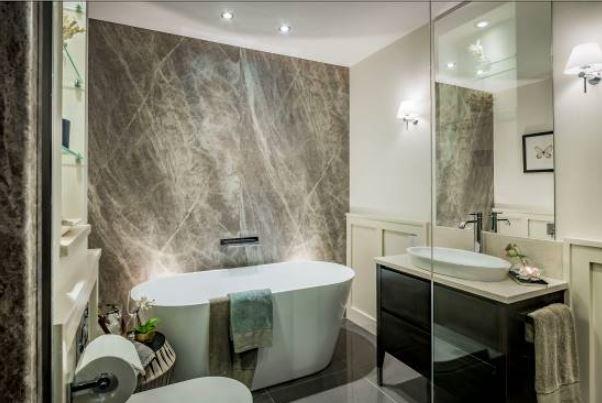 Nuance bathroom wall panelling