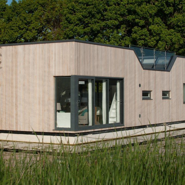 Vent-Axia Provides Ventilation to Floating Home