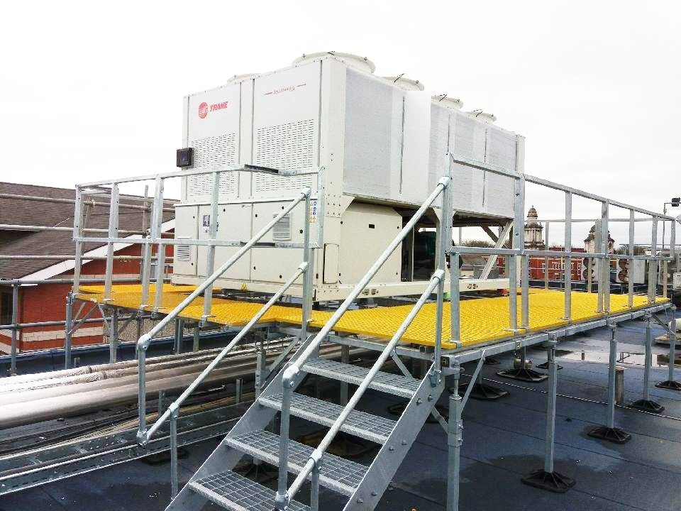 Big Foot Systems Provides Support At Manchester Royal