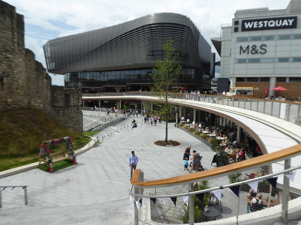 Southampton's Watermark Westquay wins 2018 Prix-Versailles World Architecture Award