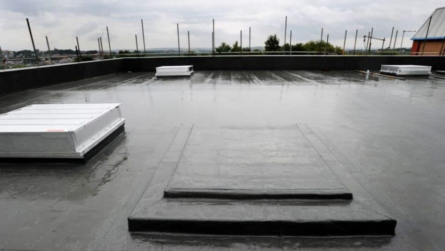 Fixing water ingress in a leisure complex