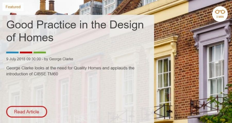 Good Practice in the Design of Homes