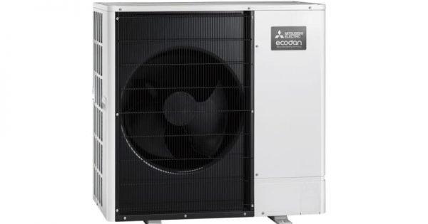 Ultra Quiet Ecodan air source heat pumps