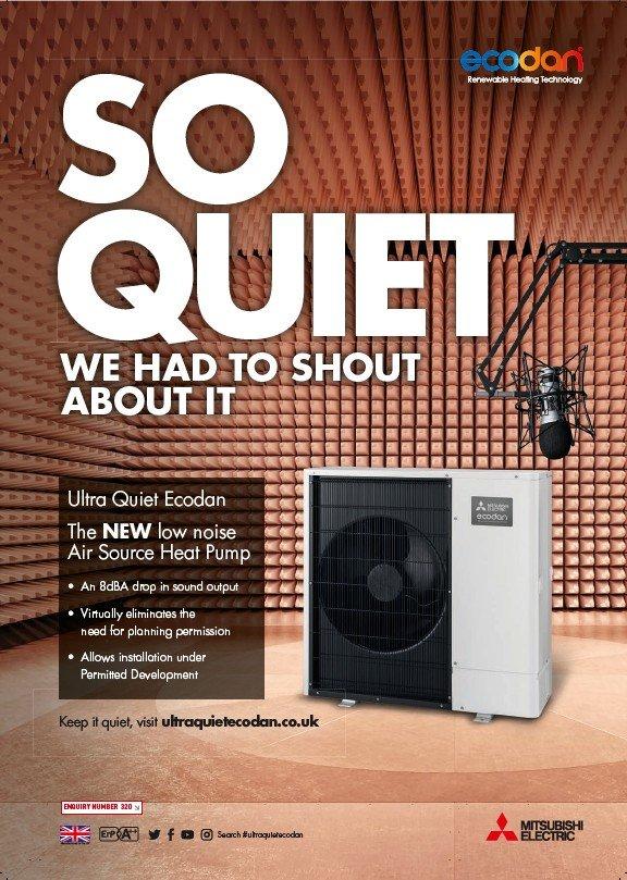 Ultra Quiet Ecodan